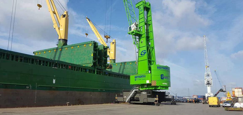 Transport maritimes à Roubaix