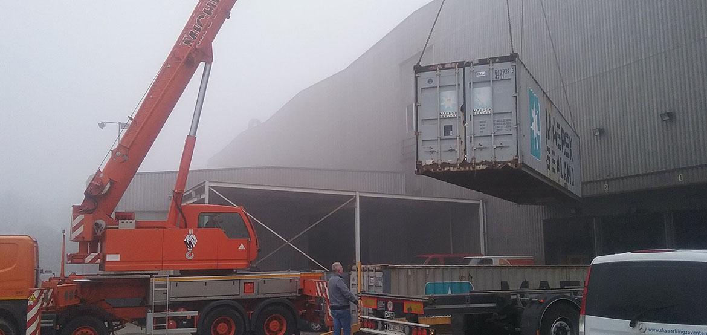 Les types de biens transportés : E-Force Shipping